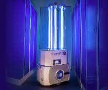 Corona-Pandemie: Omron: Mobiler Roboter für die UV-Desinfektion