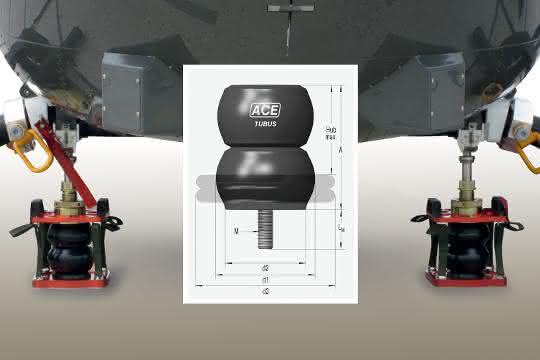 ACE-Sicherheitsdämpfer: Weiche Landung beim Helikopter-Transport