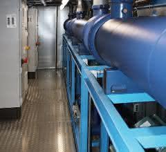 Drei Kälteanlagen mit je 400 Kilowatt Leistung