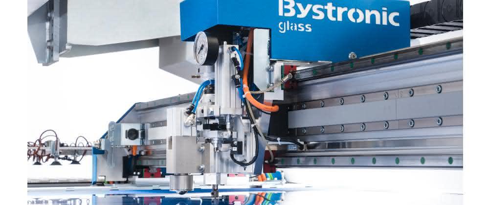 Glasbearbeitungsmaschine von Bystronic Maschinen