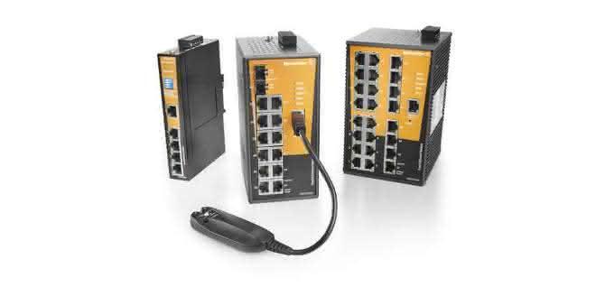 Managed Switches von Weidmüller