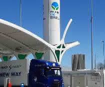 Erste Rolande-CNG/LNG-Tankstelle in Deutschland eröffnet