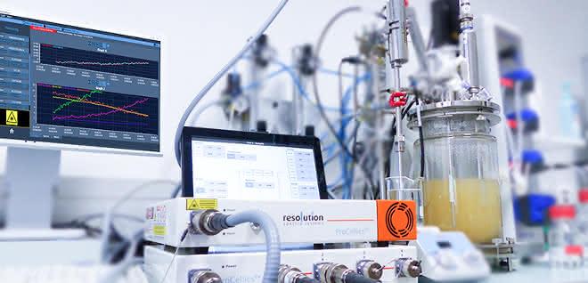 Process in a laboratory