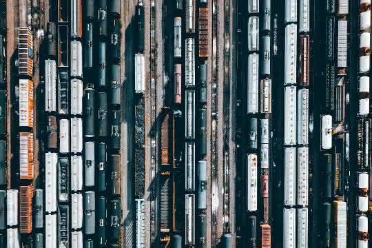 Eisenbahnwaggon digitalisiert