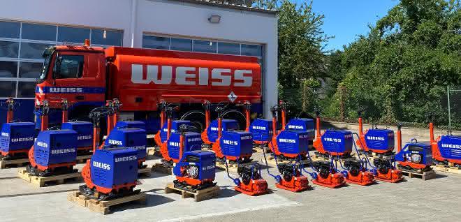 Weiss setzt auf Bomag Light-Equipment