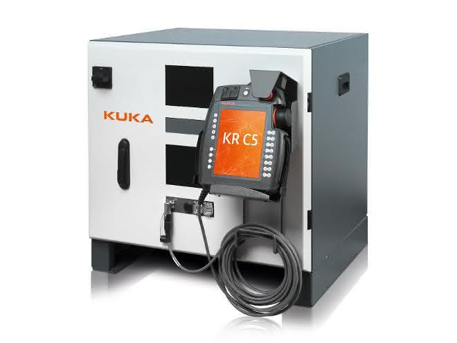 Robotersteuerung KR C5: Neue Kuka-Steuerung: Kompakt und kaum Energiebedarf
