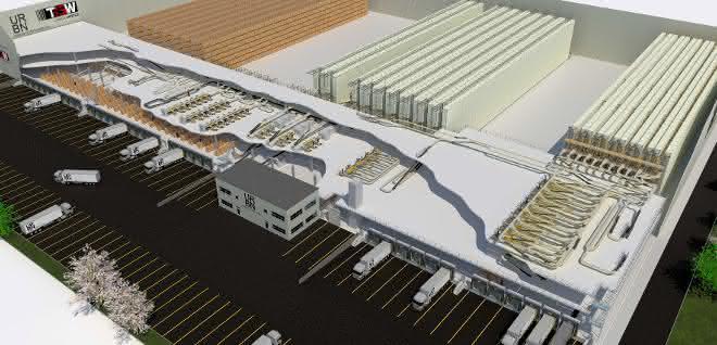 TGW errichtet Distributionszentrum  für Urban Outfitters