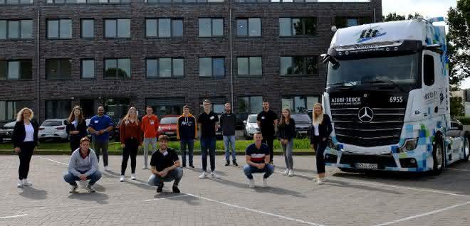 29 Berufseinsteiger: L.I.T. Gruppe hält Auszubildenden-Niveau