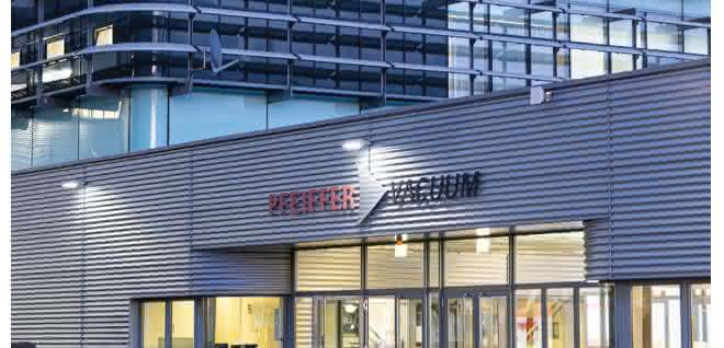 Firmengebäude Pfeiffer Vacuum