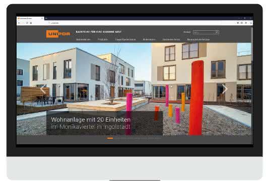 Unipor modernisiert Website