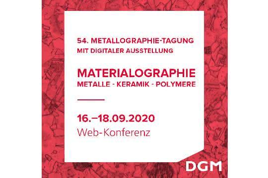Metallographie-Tagung 2020