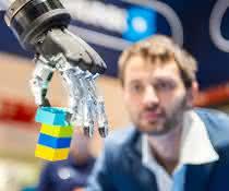 Roboter am Arbeitsplatz