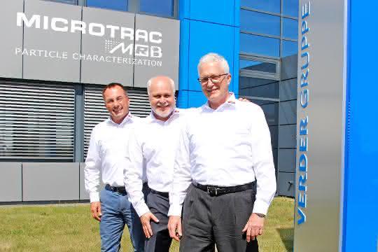 Dr. Jürgen Pankratz, Carsten Minkley und Dr. Jürgen Adolphs