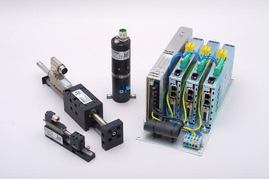 PosiPac-Einheiten von Jung Antriebstechnik und Automation