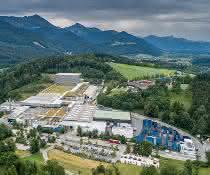 Adelholzener Hauptsitz in Siegsdorf