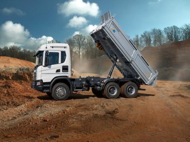 Scania Ready Built jetzt auch für Scania Kipper