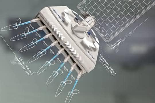 Pipettieren: Probentransfer zwischen unterschiedlichen Gefäßformaten