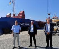 5.000 Seecontainereinheiten markieren Meilenstein in Sassnitz-Mukran