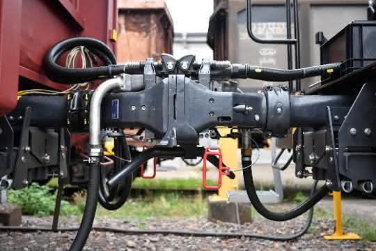 Premiere der Digitalen Automatischen Kupplung im Güterverkehr