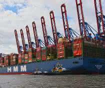 """Erstanlauf der """"HMM Hamburg"""" in Hamburg"""