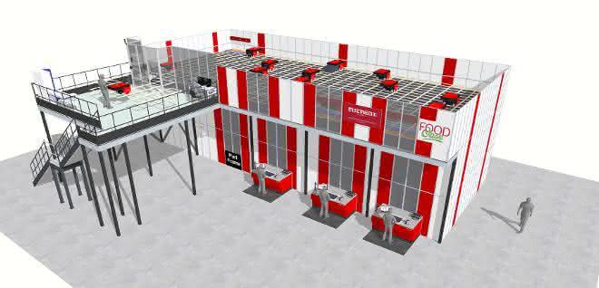 FoodOase automatisiert Lager mit AutoStore