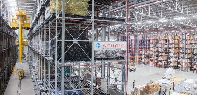 Unitechnik-Cargo-Anlage im UNO-Hilfseinsatz