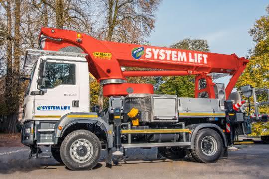 Nutzfahrzeuge: Über 40 Palfinger-Hubarbeitsbühnen für System Lift