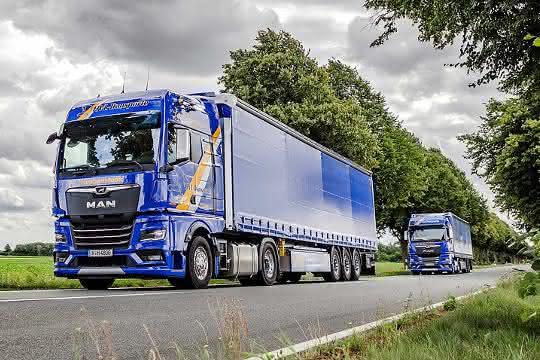 Premiere für den MAN TGX: Neue Truck-Generation von MAN im Kundeneinsatz