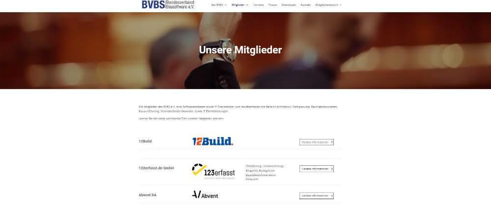 Bundesverband Bausoftware e.V. wählt neuen Vorstand und neuen Vizepräsidenten