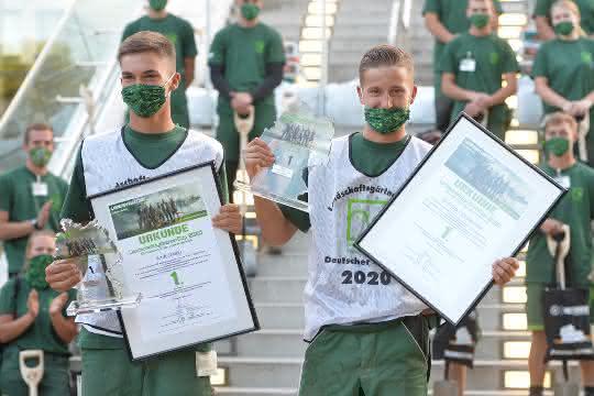 Das Deutsche Meisterteam im GaLaBau kommt aus Sachsen