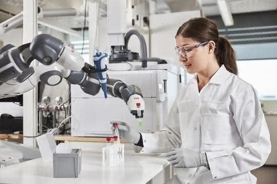 Was Roboter können und leisten könnten: Roboter im Laboreinsatz
