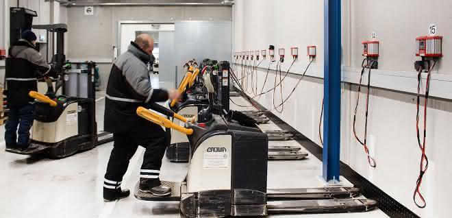 Batterien im Kühlbereich schonend im Einsatz