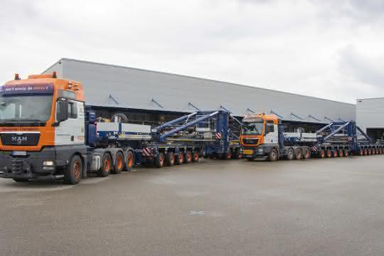 Universal Transport modernisiert Schwerlast-Modul-Flotte