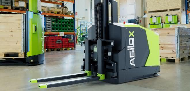 Agilox Gegengewichtsstapler