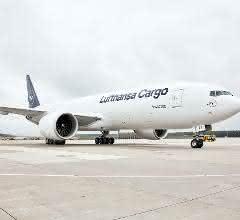 Lufthansa Cargo begrüßt neunte B777F in Frankfurt