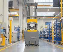 Wegmann automotive automatisiert mit Jungheinrich