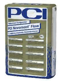 PCI Novoment Flow komplettiert die Produktfamilie