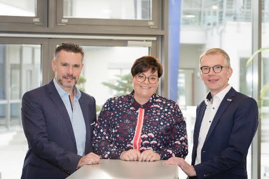 Thorsten Strebel, Nathalie Kletti und Jürgen Petzel