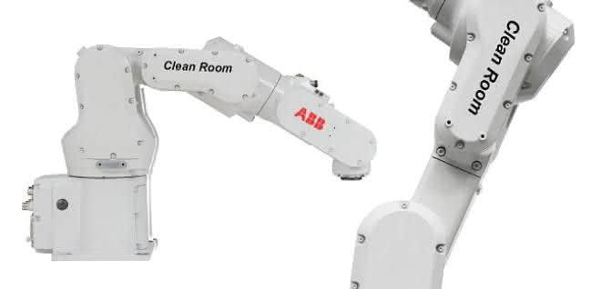 Reinraumversion des Roboters IRB 1100
