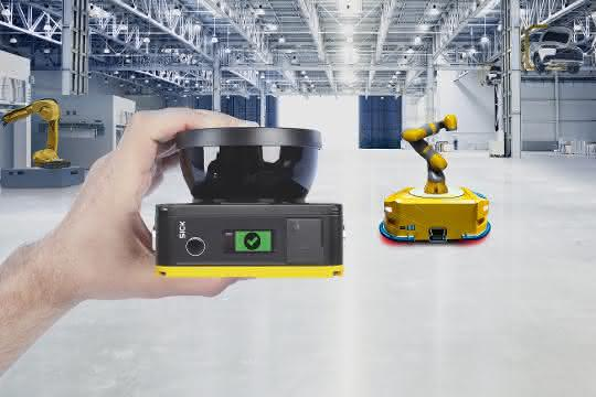 Laserscanner nanoScan3