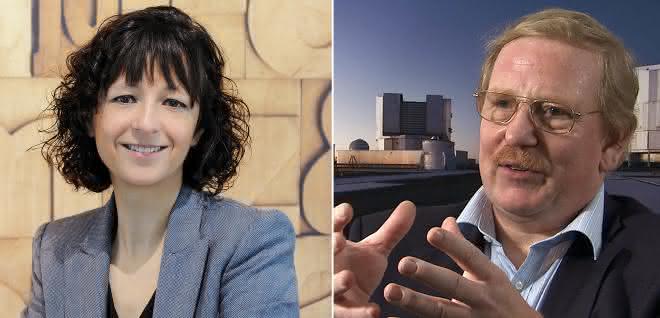 Emmanuelle Charpentier und Reinhard Genzell