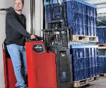 Neue extraschmale Fahrerstandhubwagen von Linde Material Handling