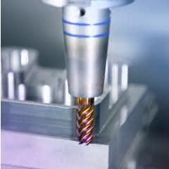 Vollhartmetall beschichtet – mehr Standzeit und höhere Geschwindigkeiten sind das Ziel.