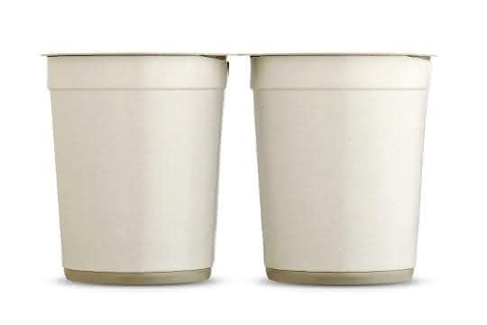 Aktuell im Test: Dual-Joghurt-Packs, aus 100 Prozent mechanisch recyceltem Polystyrol.