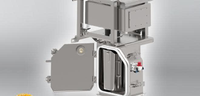 Metallseparator, der für die Granulat-, Compound- und Masterbatch-Herstellung entwickelt wurde.