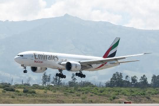 Emirates SkyCargo unterstützt Lieferketten für Lebensmittel