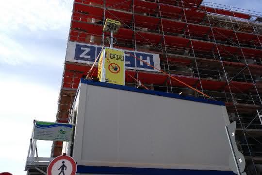 Baustellenüberwachung: Hotelbau bewacht per Video Guard