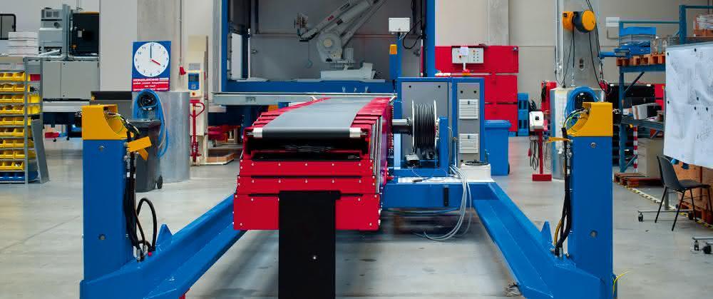 Roboter unterstützen Logistikprozesse: Container-Entladung will geregelt sein