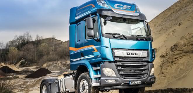 DAF mit Zusatzantrieb für die Baubranche