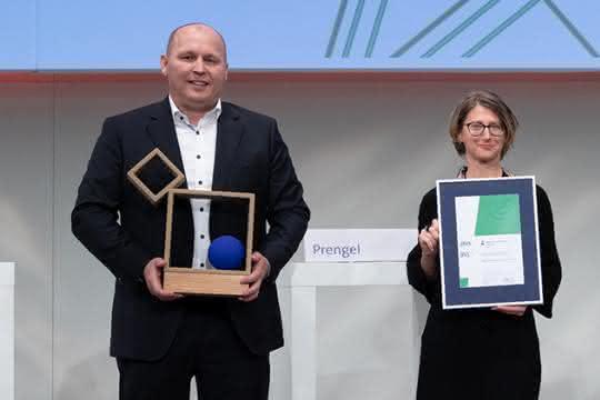 Transgourmet erhält den Nachhaltigkeitspreis Logistik der BVL